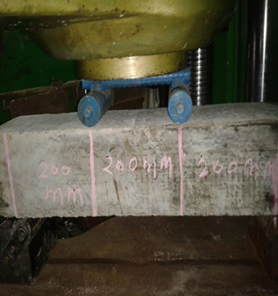 CONCRETE - FLEXURAL STRENGTH TEST