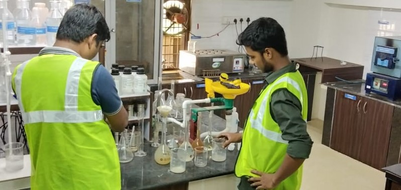 CONSTRUCTION MATERIAL CHEMICAL TESTING